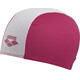 arena Polyester Jr Swin Caps strawberry-white